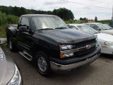 2004 Dark Green Metallic Chevrolet Silverado 1500 Z71 Regular Cab 4x4 #84135734