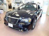 2013 Phantom Black Tri-Coat Pearl Chrysler 300 C John Varvatos Limited Edition #84135314