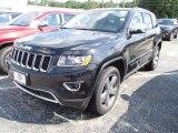 2014 Brilliant Black Crystal Pearl Jeep Grand Cherokee Limited 4x4 #84135309