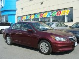 2011 Basque Red Pearl Honda Accord LX Sedan #84136244