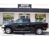 2012 Black Dodge Ram 1500 Laramie Quad Cab 4x4 #84135856