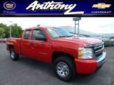 2011 Victory Red Chevrolet Silverado 1500 LS Extended Cab 4x4 #84136106