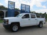 2014 Summit White Chevrolet Silverado 1500 WT Crew Cab 4x4 #84135582
