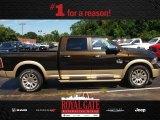 2013 Black Gold Pearl Ram 1500 Laramie Longhorn Crew Cab 4x4 #84135419