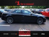 2013 Phantom Black Tri-Coat Pearl Chrysler 300 C John Varvatos Limited Edition #84135416