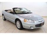 2002 Sterling Blue Satin Glow Chrysler Sebring Limited Convertible #84135958