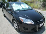 2012 Black Ford Focus S Sedan #84135557