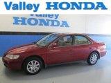 2002 Firepepper Red Pearl Honda Accord EX Sedan #84135393