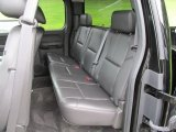2011 Chevrolet Silverado 1500 LTZ Extended Cab 4x4 Rear Seat