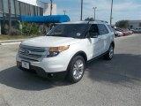 2014 White Platinum Ford Explorer XLT #84135536