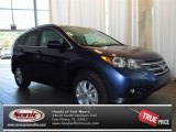 2013 Twilight Blue Metallic Honda CR-V EX-L #84135369