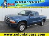 2004 Atlantic Blue Pearl Dodge Dakota Sport Club Cab #84136140