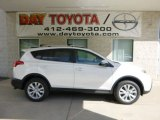 2013 Blizzard White Pearl Toyota RAV4 Limited AWD #84135485