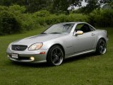 2001 Brilliant Silver Metallic Mercedes-Benz SLK 230 Kompressor Roadster #84135888