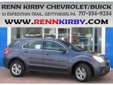 2013 Atlantis Blue Metallic Chevrolet Equinox LS AWD #84193958