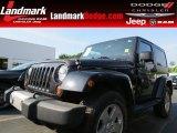 2012 Black Jeep Wrangler Sahara 4x4 #84193915