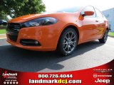 2013 Header Orange Dodge Dart SXT #84193908