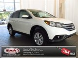 2013 White Diamond Pearl Honda CR-V EX #84193809