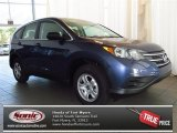 2013 Twilight Blue Metallic Honda CR-V LX #84193807