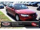 2002 Firepepper Red Pearl Honda Accord SE Sedan #84193796