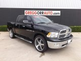 2012 Black Dodge Ram 1500 Big Horn Crew Cab 4x4 #84211019