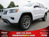 2014 Bright White Jeep Grand Cherokee Limited #84217028
