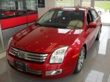 2008 Redfire Metallic Ford Fusion SEL #84217294