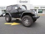 2011 Black Jeep Wrangler Sport 4x4 #84217095