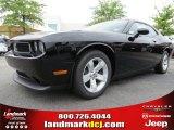 2013 Pitch Black Dodge Challenger SXT #84217009