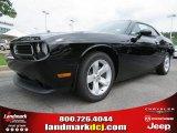 2013 Pitch Black Dodge Challenger SXT #84217008