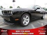 2013 Pitch Black Dodge Challenger SXT #84217007