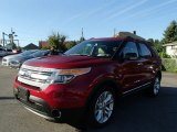 2014 Ruby Red Ford Explorer XLT 4WD #84217347