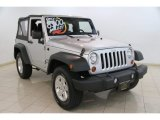2011 Bright Silver Metallic Jeep Wrangler Sport S 4x4 #84217278