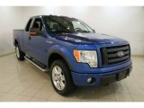 2010 Blue Flame Metallic Ford F150 FX4 SuperCab 4x4 #84217277