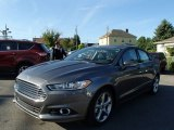 2013 Sterling Gray Metallic Ford Fusion SE #84217344