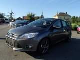 2014 Sterling Gray Ford Focus SE Hatchback #84217343