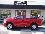2012 Flame Red Dodge Ram 1500 Express Regular Cab #84217205