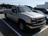 2006 Silver Birch Metallic Chevrolet Silverado 1500 Work Truck Regular Cab 4x4 #84217072
