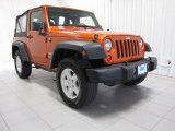 2011 Mango Tango Pearl Jeep Wrangler Sport 4x4 #84217267