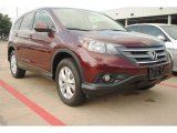 2012 Basque Red Pearl II Honda CR-V EX 4WD #84217391