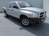 2006 Bright Silver Metallic Dodge Ram 1500 Laramie Quad Cab #84217142