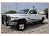 2001 Bright White Dodge Ram 2500 SLT Quad Cab 4x4 #84217195