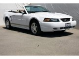 2002 Oxford White Ford Mustang V6 Convertible #84217051
