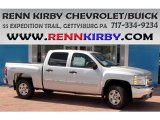 2013 Silver Ice Metallic Chevrolet Silverado 1500 LT Crew Cab 4x4 #84217248