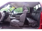 2008 Ford F150 FX2 Sport SuperCab Black Interior