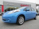 2013 Blue Ocean Nissan LEAF S #84217186