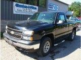 2007 Black Chevrolet Silverado 1500 Classic Work Truck Regular Cab 4x4 #84256818