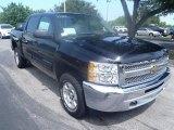 2013 Black Chevrolet Silverado 1500 LT Crew Cab #84257329