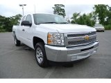 2013 Summit White Chevrolet Silverado 1500 LT Extended Cab #84257124