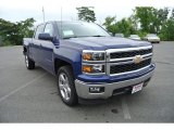 2014 Blue Topaz Metallic Chevrolet Silverado 1500 LT Crew Cab #84257114